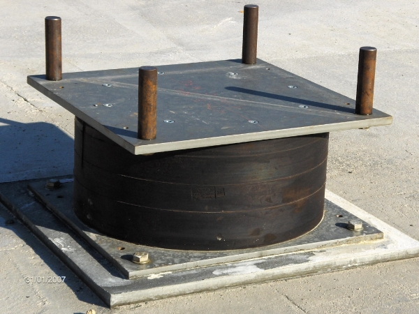 Product image: High damping rubber bearing (HDRB)